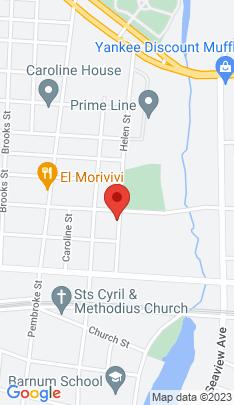 Map of Multi Family Home on 161 Helen Street,Bridgeport, CT