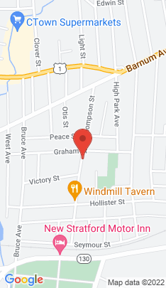 Map of Multi Family Home on 278 Thompson Street,Stratford, CT