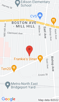 Map of Multi Family Home on 72 Prince Street,Bridgeport, CT