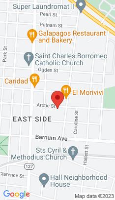 Map of Multi Family Home on 584 Arctic Street,Bridgeport, CT