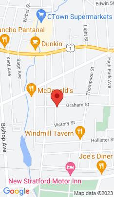 Map of Multi Family Home on 33 Howard Street,Stratford, CT
