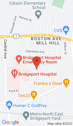 Map of Single Family Home on 97 Judson Place,Bridgeport, CT
