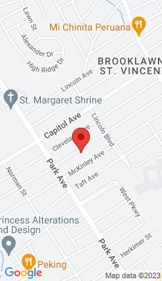 Map of Single Family Home on 353 Jackson Avenue,Bridgeport, CT