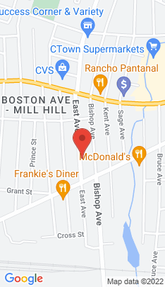 Map of Single Family Home on 298 East Avenue,Bridgeport, CT