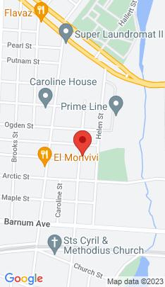 Map of Single Family Home on 626 Hallett Street,Bridgeport, CT