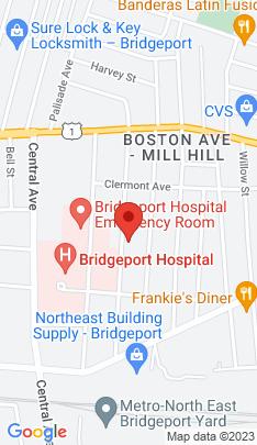 Map of Single Family Home on 248 Ridgefield Avenue,Bridgeport, CT