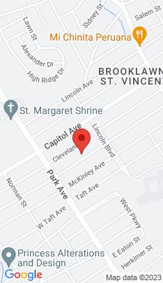 Map of Single Family Home on 338 Jackson Avenue,Bridgeport, CT