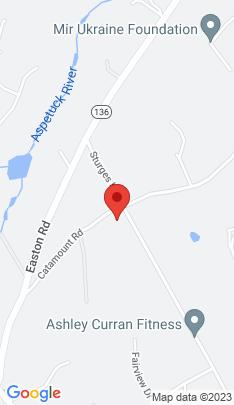 Map of Mansion on 287 Sturges Highway,Westport, CT