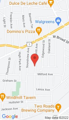 Map of Single Family Home on 192 Burritt Avenue,Stratford, CT