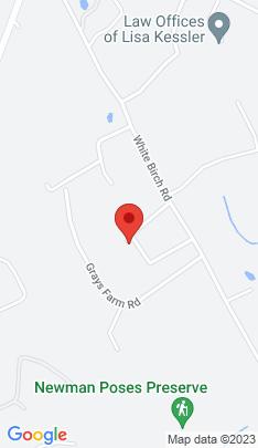 Map of Single Family Home on 25 White Birch Ridge,Weston, CT