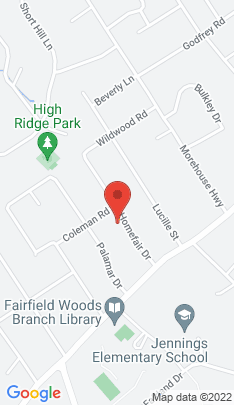 Map of Single Family Home on 129 Homefair Drive,Fairfield, CT