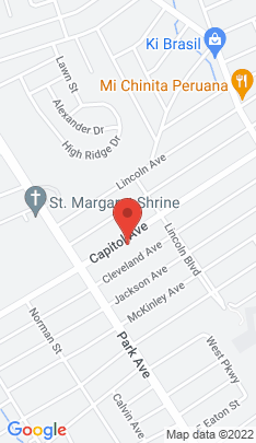 Map of Single Family Home on 1215 Capitol Avenue,Bridgeport, CT