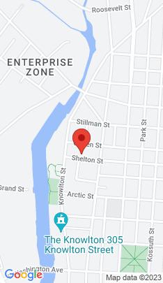 Map of Multi Family Home on 117 Shelton Street,Bridgeport, CT