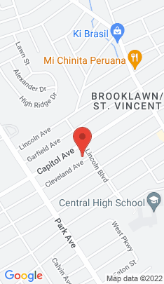 Map of Single Family Home on 280 Cleveland Avenue,Bridgeport, CT