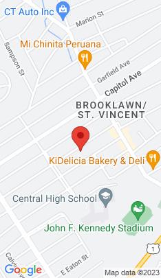 Map of Multi Family Home on 143 Jackson Avenue,Bridgeport, CT