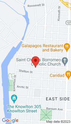 Map of Multi Family Home on 208 Ogden Street,Bridgeport, CT