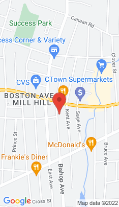 Map of Multi Family Home on 710 712 Bishop Avenue,Bridgeport, CT