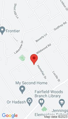Map of Single Family Home on 247 Homefair Drive,Fairfield, CT