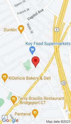 Map of Single Family Home on 28 Tom Thumb Street,Bridgeport, CT