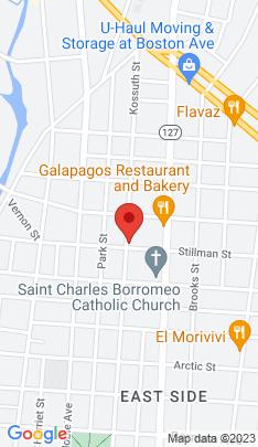 Map of Multi Family Home on 1048 Kossuth Street,Bridgeport, CT