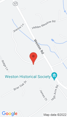 Map of Single Family Home on 16 Briar Oak Drive,Weston, CT