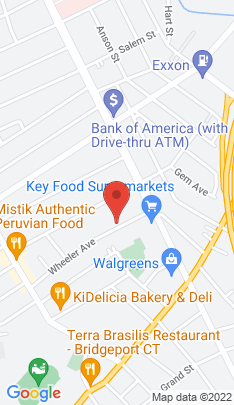 Map of Multi Family Home on 88 Wheeler Avenue,Bridgeport, CT