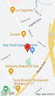 Map of Multi Family Home on 80 Wheeler Ave ,Bridgeport, CT