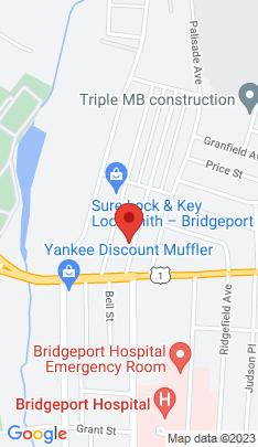 Map of Single Family Home on 63 Remington Street,Bridgeport, CT