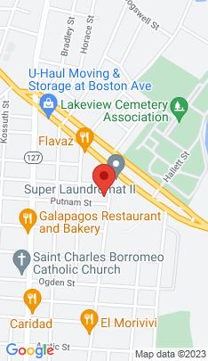 Map of Multi Family Home on 1495 Pembroke Street,Bridgeport, CT
