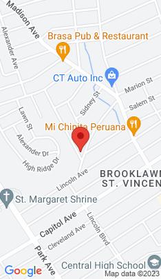 Map of Multi Family Home on 28 Sampson Street,Bridgeport, CT