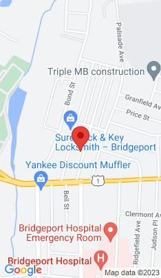 Map of Multi Family Home on 93 Remington Street,Bridgeport, CT