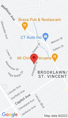 Map of Single Family Home on 186 Arlington Street,Bridgeport, CT