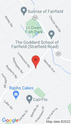 Map of Single Family Home on 327 Fairfield Woods Road,Fairfield, CT