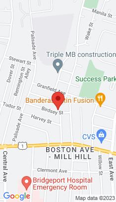 Map of Single Family Home on 149 Birdsey Street,Bridgeport, CT