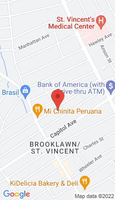 Map of Single Family Home on 237 Lincoln Avenue,Bridgeport, CT