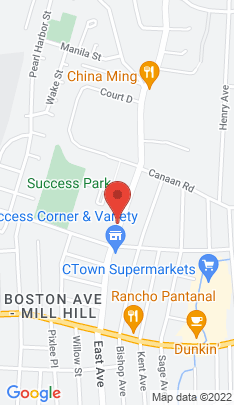 Map of Cooperative Home on 245 Success Avenue,Bridgeport, CT