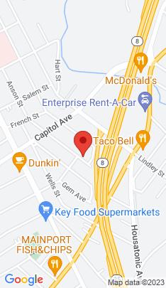 Map of Multi Family Home on 138 Parrott Avenue,Bridgeport, CT