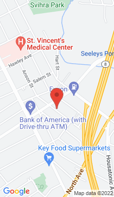 Map of Multi Family Home on 240 Parrott Avenue,Bridgeport, CT