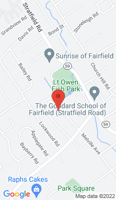 Map of Single Family Home on 1663 Melville Avenue,Fairfield, CT