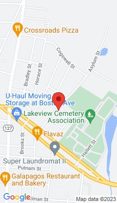 Map of Single Family Home on 118 Asylum Street,Bridgeport, CT