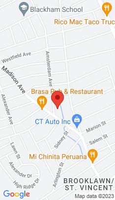 Map of Condo Home on 20 Amsterdam Avenue,Bridgeport, CT