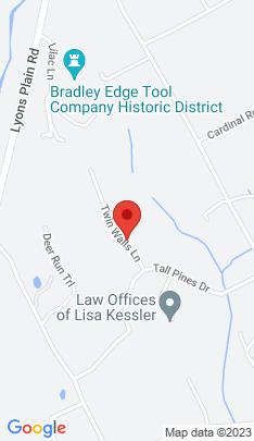 Map of Mansion on 15 Twin Walls Lane,Weston, CT