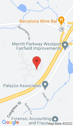 Map of Condo Home on 41 Palmer Bridge,Fairfield, CT