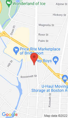 Map of Multi Family Home on 1285 Noble Avenue,Bridgeport, CT