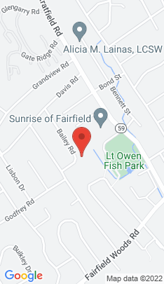 Map of Single Family Home on 215 Bailey Road,Fairfield, CT