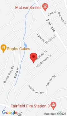 Map of Single Family Home on 223 Homeland Street,Fairfield, CT