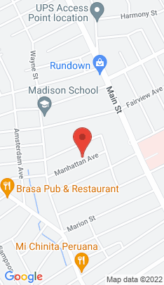 Map of Single Family Home on 78 Manhattan Avenue,Bridgeport, CT