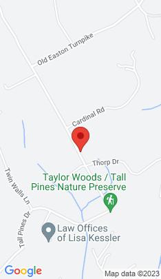 Map of Mansion on 58 Fanton Hill Road,Weston, CT
