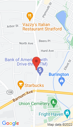 Map of Multi Family Home on 2981 Main Street,Stratford, CT