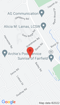 Map of Single Family Home on 14 Bailey Road,Fairfield, CT